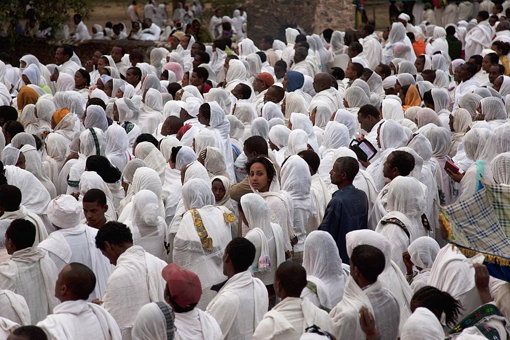 Timkat festival, Gondar, Ethiopia, Africa - 772-2763