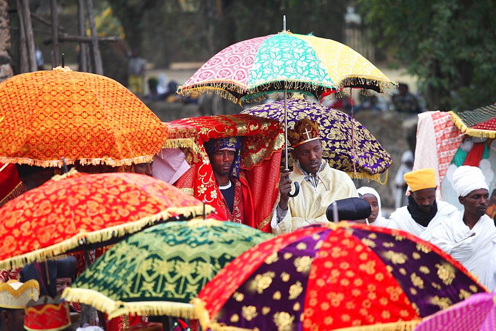 Timkat festival, Gondar, Ethiopia, Africa - 772-2766