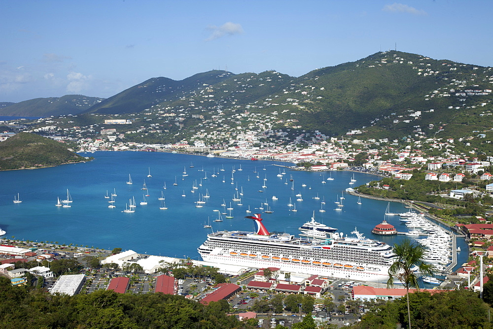 Charlotte Amalie, St. Thomas, U.S. Virgin Islands, West Indies, Caribbean, Central America
