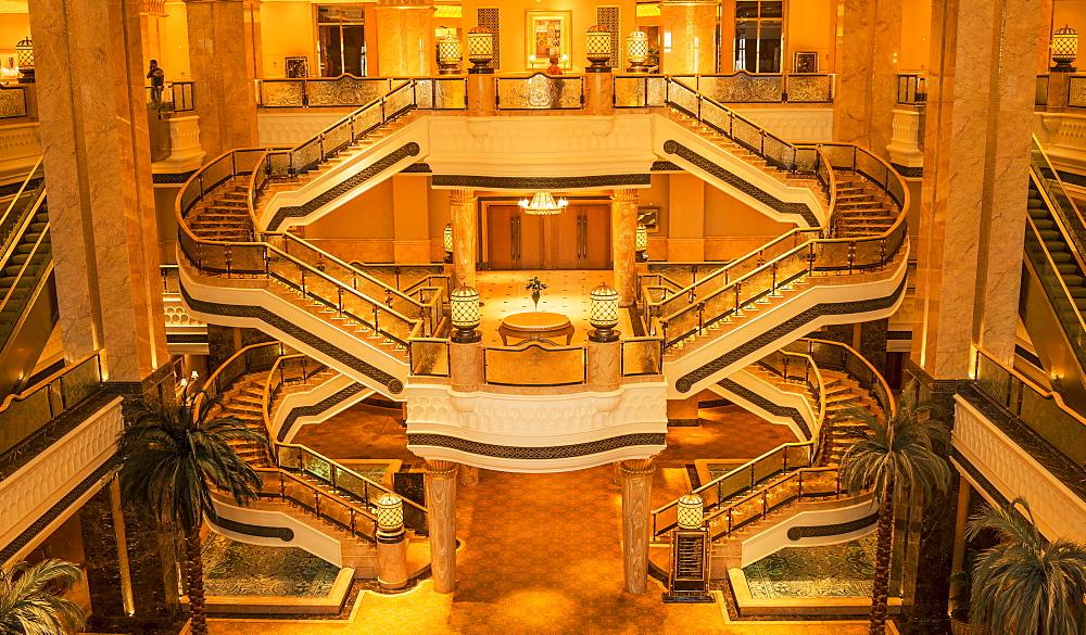 Emirates Palace Hotel, Abu Dhabi, United Arab Emirates, Middle East