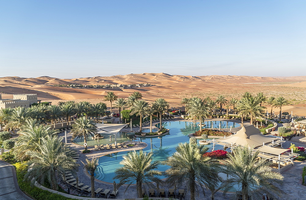 Qasr Al Sarab Desert Resort, a luxury resort by Anantara in the Empty Quarter Desert, Abu Dhabi, United Arab Emirates, Middle East - 772-3691