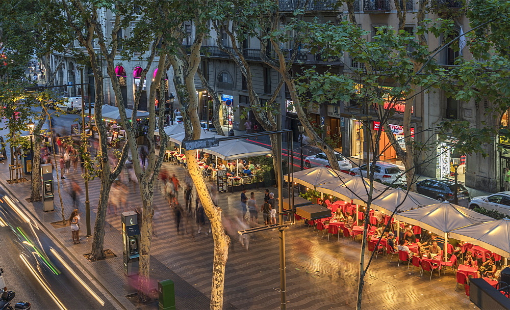 La Rambla, Barcelona, Catalonia, Spain, Europe - 772-3723