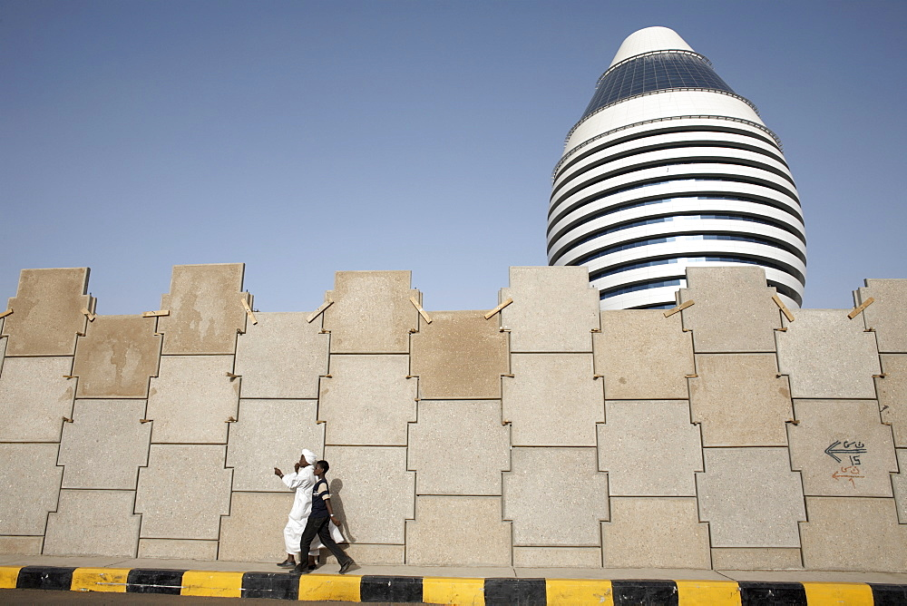 The 5-star Boji Al-Fateh Hotel, or Libyan Hotel, Khartoum, Sudan, Africa