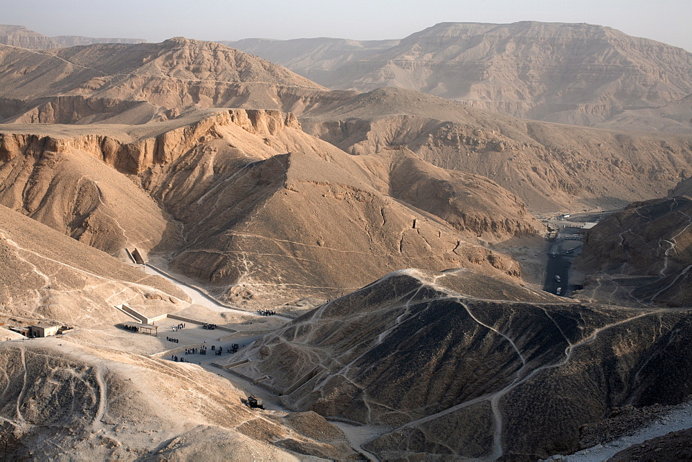 The Valley of the Kings, Thebes, UNESCO World Heritage Site, Egypt, North Africa, Africa