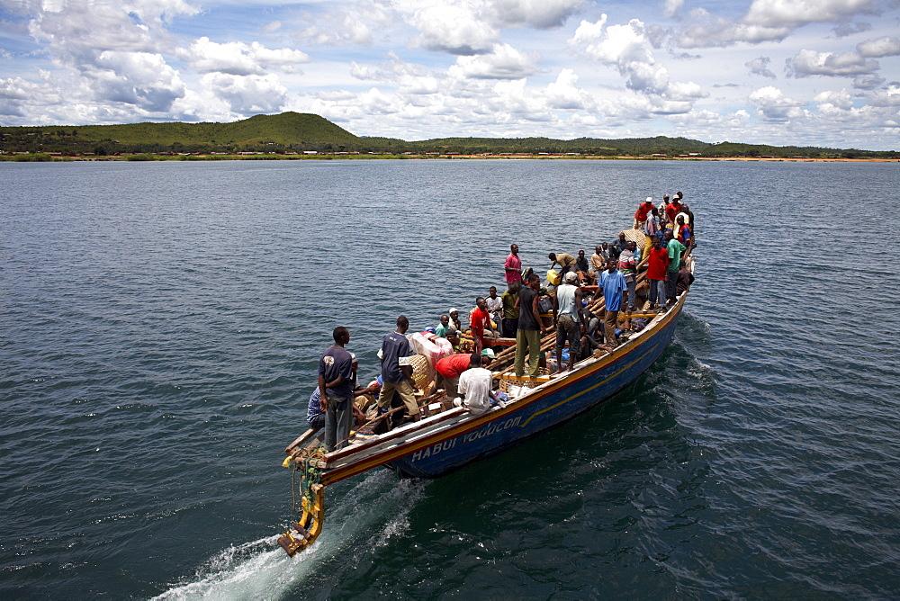A boat on Lake Tanganyika, Tanzania, East Africa, Africa - 774-762