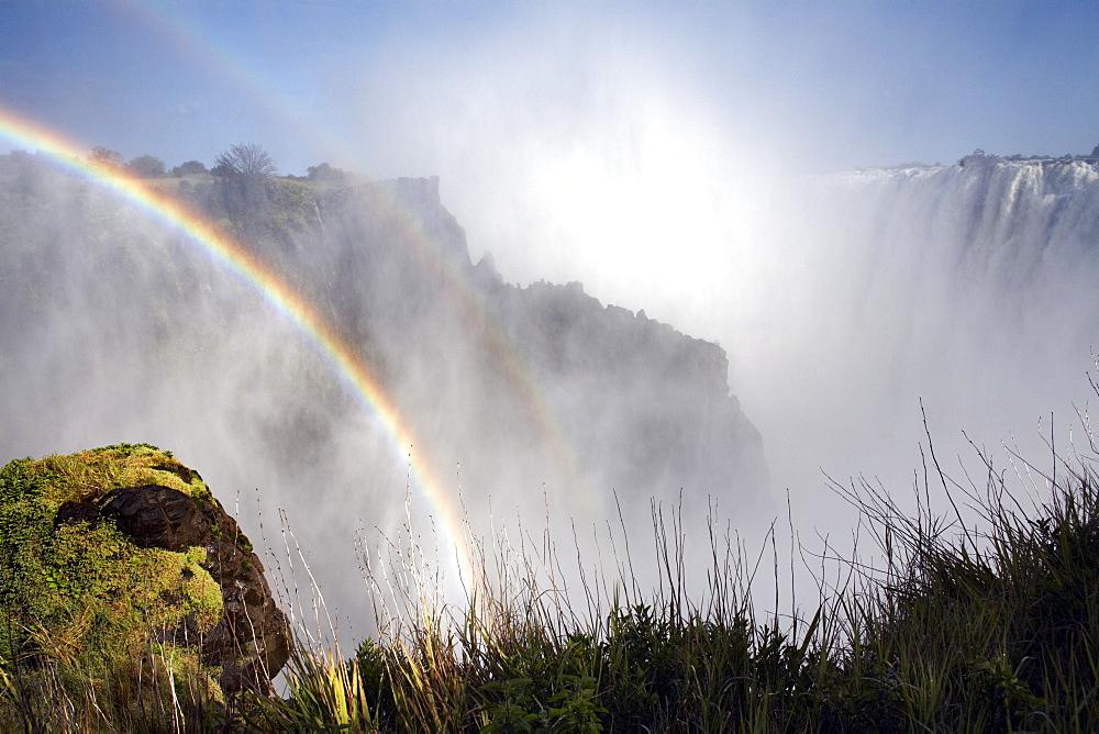 Victoria Falls, UNESCO World Heritage Site, Zambia, Africa - 774-764