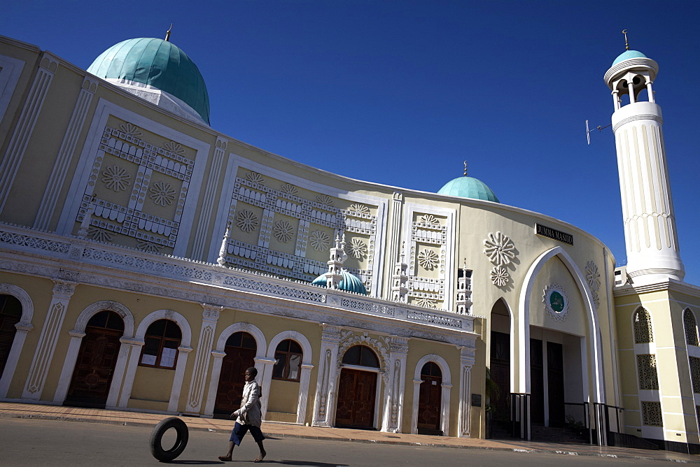 Jumma Masjid mosque, in the oldest part of Maputo, Mozambique, Africa