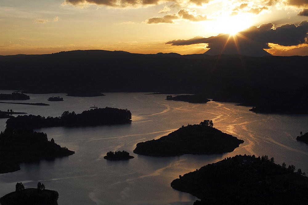 Lake Bunyoni, Uganda, East Africa, Africa - 774-796