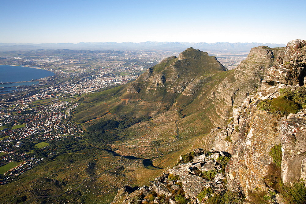 Table Mountain, Cape Town, South Africa, Africa