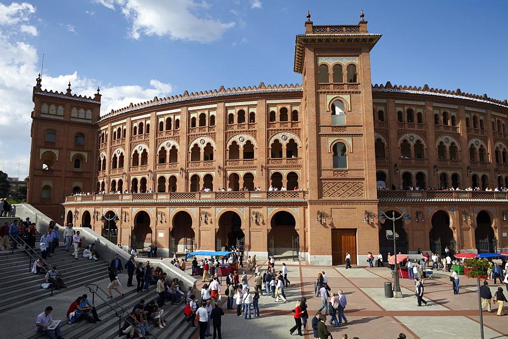 Plaza de Toros de Las Ventas, the famous bullfighting venue in Madrid, Spain, Europe - 774-839