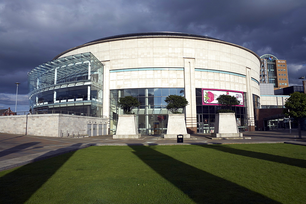 The Waterfront Hall in Belfast, Northern Ireland, United Kingdom, Europe
