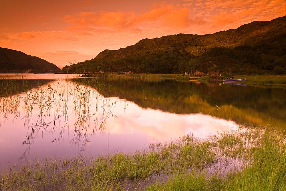 Upper Lake, Killarney National Park, County Kerry, Munster, Republic of Ireland, Europe
