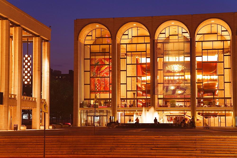 Lincoln Center, Upper West Side, Manhattan, New York City, New York, United States of America, North America
