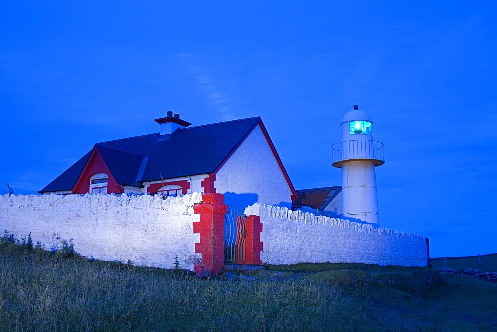 Dingle Lighthouse, Dingle Peninsula, County Kerry, Munster, Republic of Ireland, Europe