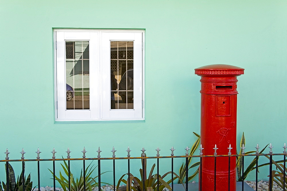 Post Office, St. Johns, Antigua Island, Lesser Antilles, West Indies, Caribbean, Central America