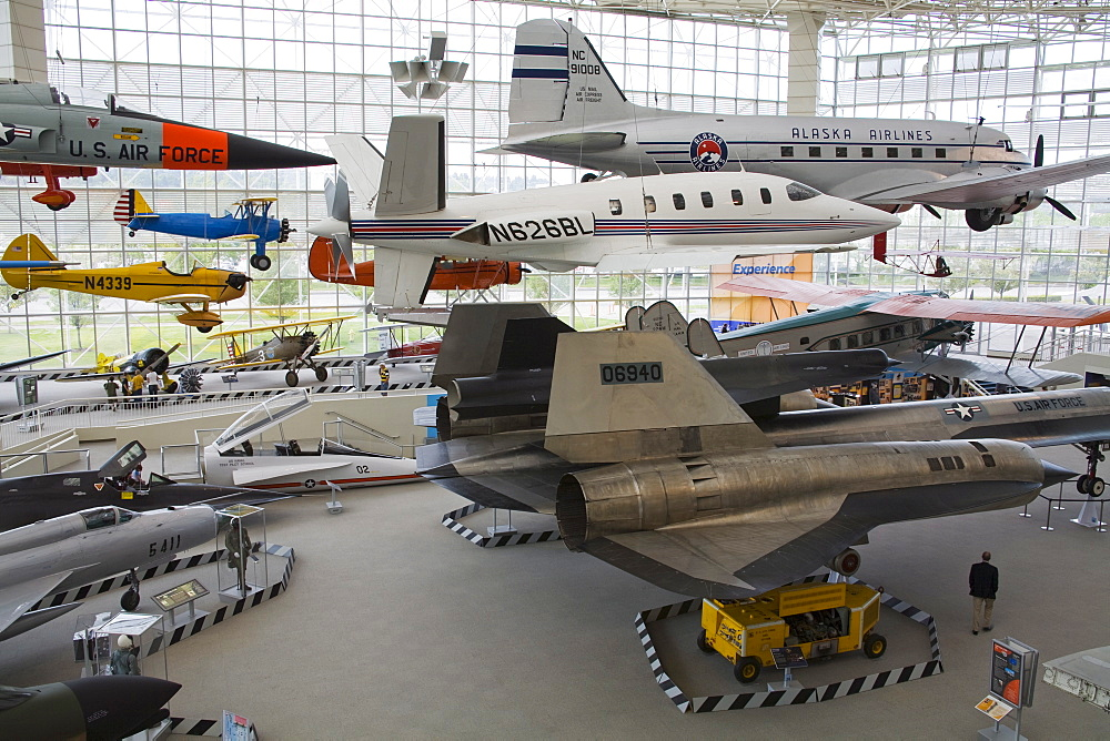 Museum of Flight, Seattle, Washington State, United States of America, North America