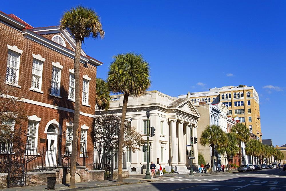 Broad Street, Charleston, South Carolina, United States of America, North America