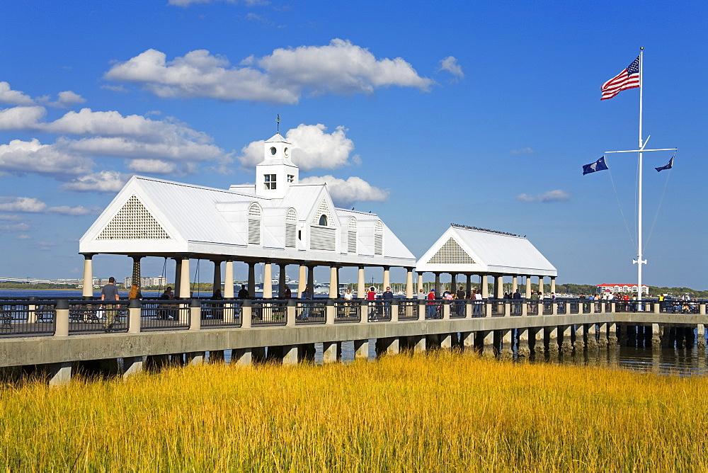 Waterfront Park Pier, Charleston, South Carolina, United States of America, North America