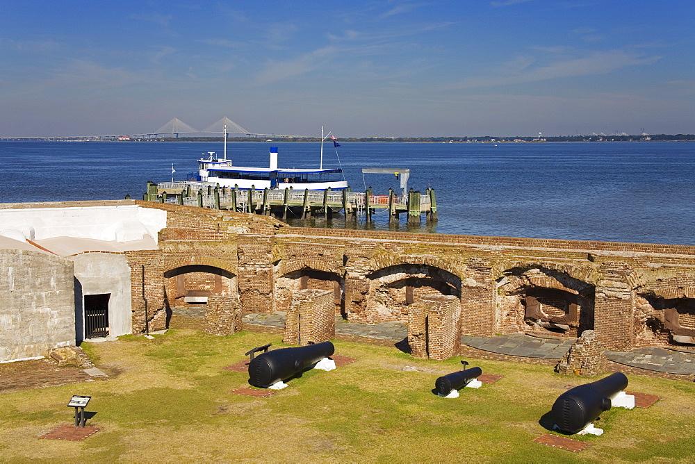 Fort Sumter National Monument, Charleston, South Carolina, United States of America, North America