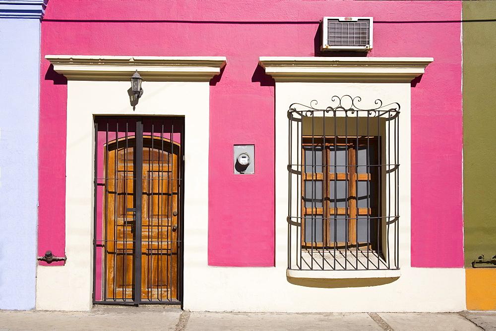 Colonial architecture in Old Town District, Mazatlan, Sinaloa State, Mexico, North America - 776-1828