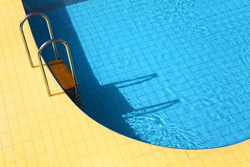 Swimming pool, Puerto Vallarta, Jalisco State, Mexico, North America - 776-1838