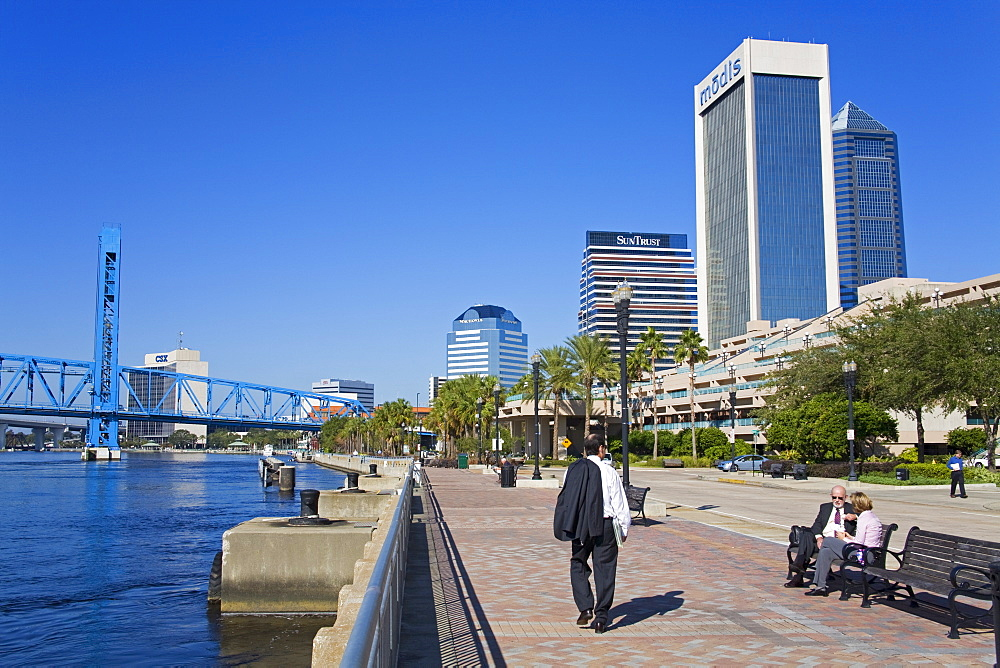 Jacksonville Riverfront, Florida, United States of America, North America