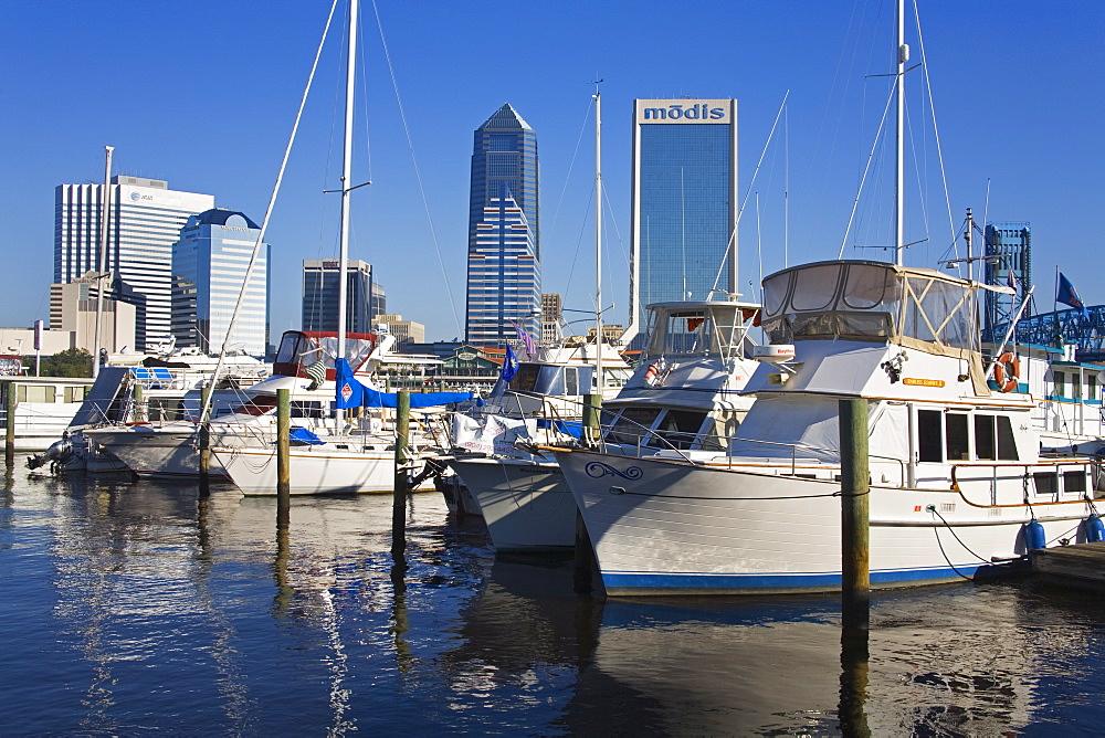 Boat Marina, Jacksonville, Florida, United States of America, North America