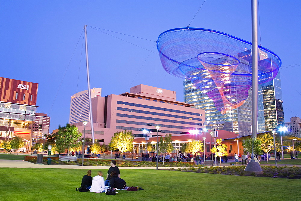 Civic Space Park, Phoenix, Arizona, United States of America, North America
