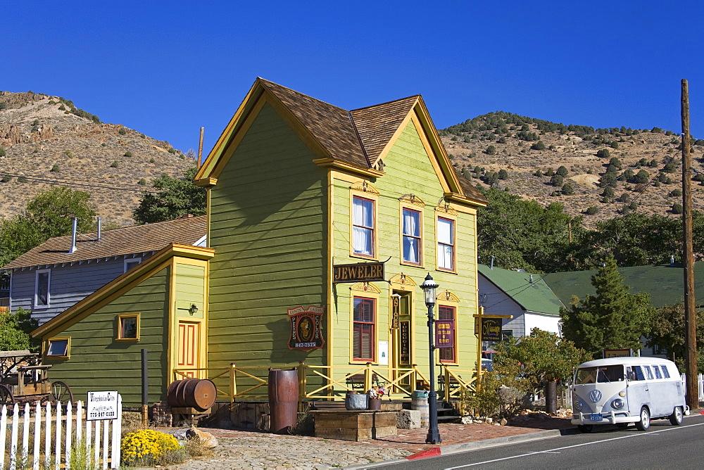 Antique store in Virginia City, Nevada, United States of America, North America