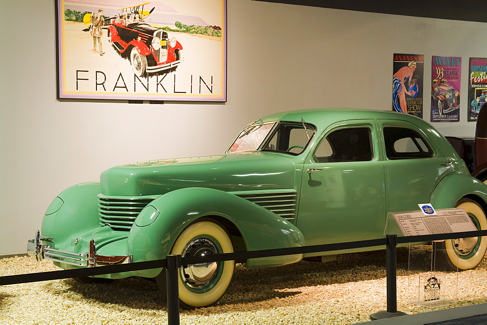 1936 Cord at the National Automobile Museum, Reno, Nevada, United States of America, North America
