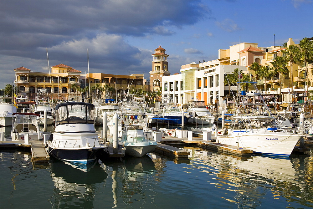 Boat Marina in Cabo San Lucas, Baja California Sur, Mexico, North America