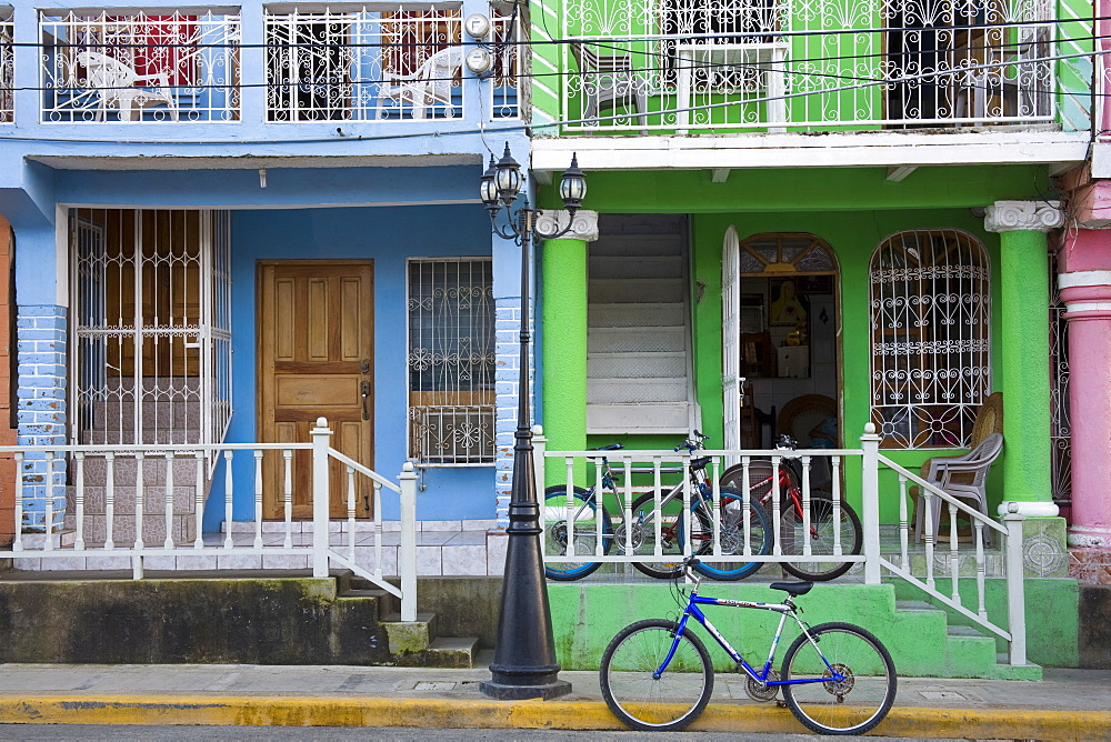 Calle Street in San Juan Del Sur, Department of Rivas, Nicaragua, Central America - 776-2340
