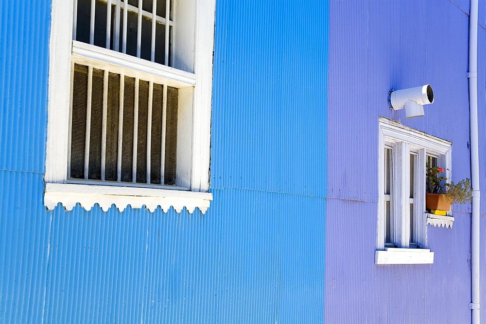 House in Cerro Concepcion, UNESCO World Heritage Site, Valparaiso, Chile, South America - 776-2441