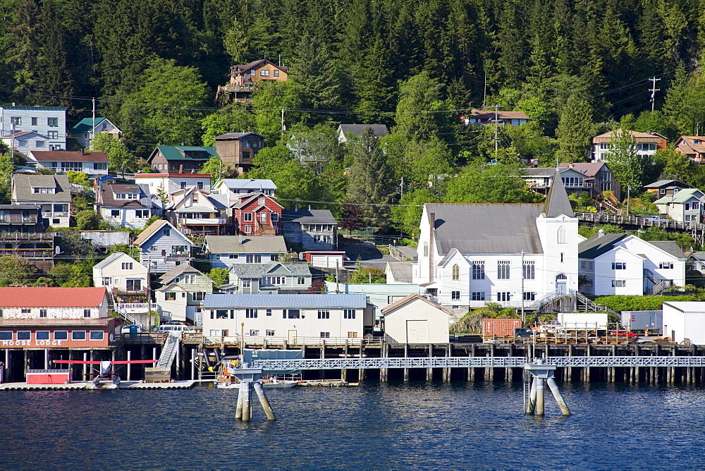 West End District, Ketchikan, Southeast Alaska, United States of America, North America