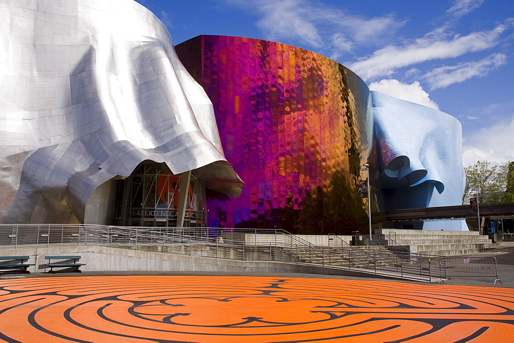 Experience Music Project at the Seattle Center, Seattle, Washington State, United States of America, North America