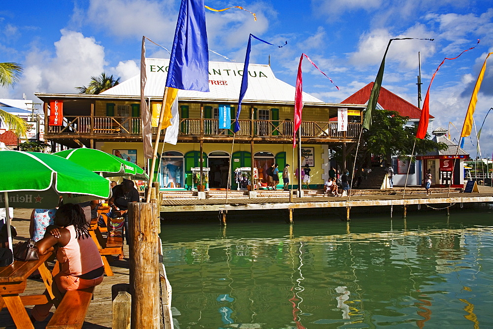 Heritage Quay, St. Johns, Antigua Island, Antigua and Barbuda, Leeward Islands, Lesser Antilles, West Indies, Caribbean, Central America