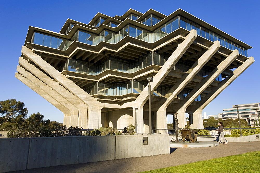 Geisel Library in University College San Diego, La Jolla, California, United States of America, North America