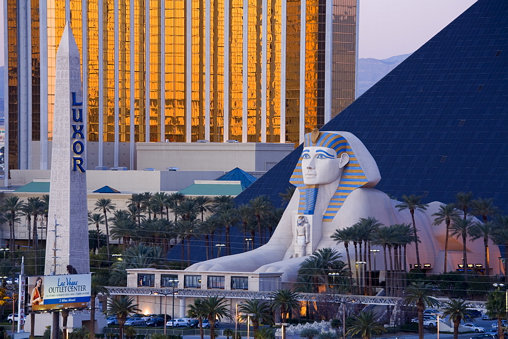 Luxor Casino and Hotel, Las Vegas, Nevada, United States of America, North America