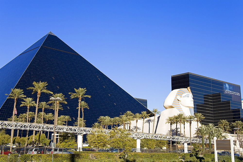 Luxor Hotel and Casino, Las Vegas, Nevada, United States of America, North America