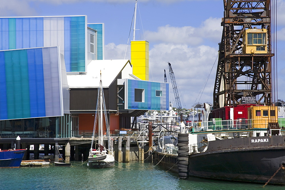 National Maritime Museum, Auckland, North Island, New Zealand, Pacific