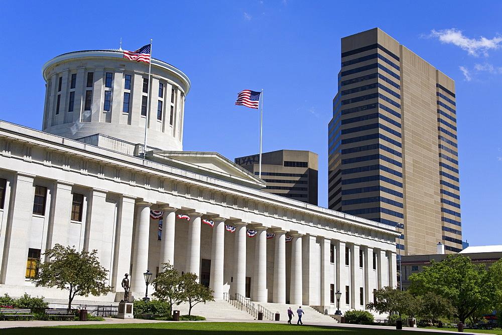 Ohio Statehouse, Columbus, Ohio, United States of America, North America