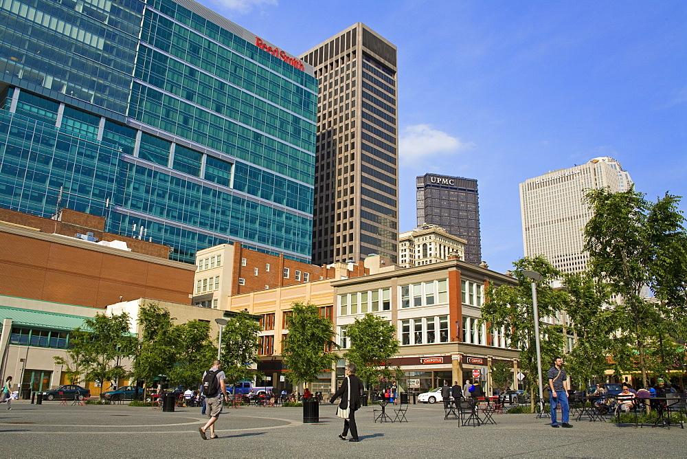 Market Square, Pittsburgh, Pennsylvania, United States of America, North America