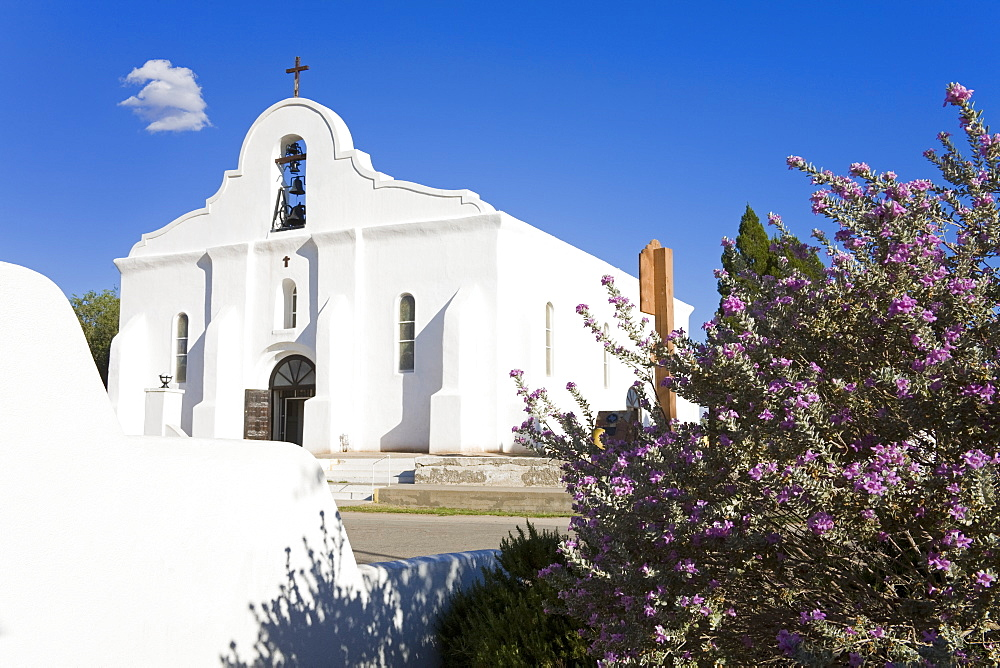 San Elizario Mission, El Paso, Texas, United States of America, North America