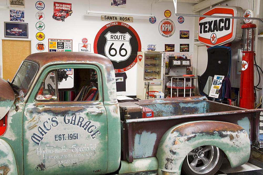 Route 66 Auto Museum in Santa Rosa, New Mexico, United States of America, North America