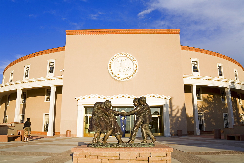 State Capitol Building, Santa Fe, New Mexico, United States of America, North America