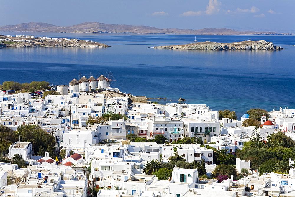 Mykonos Town, Island of Mykonos, Cyclades, Greek Islands, Greece, Europe