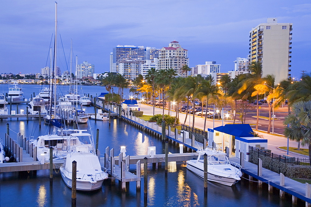 Intercoastal Waterway, Fort Lauderdale, Broward County, Florida, United States of America, North America