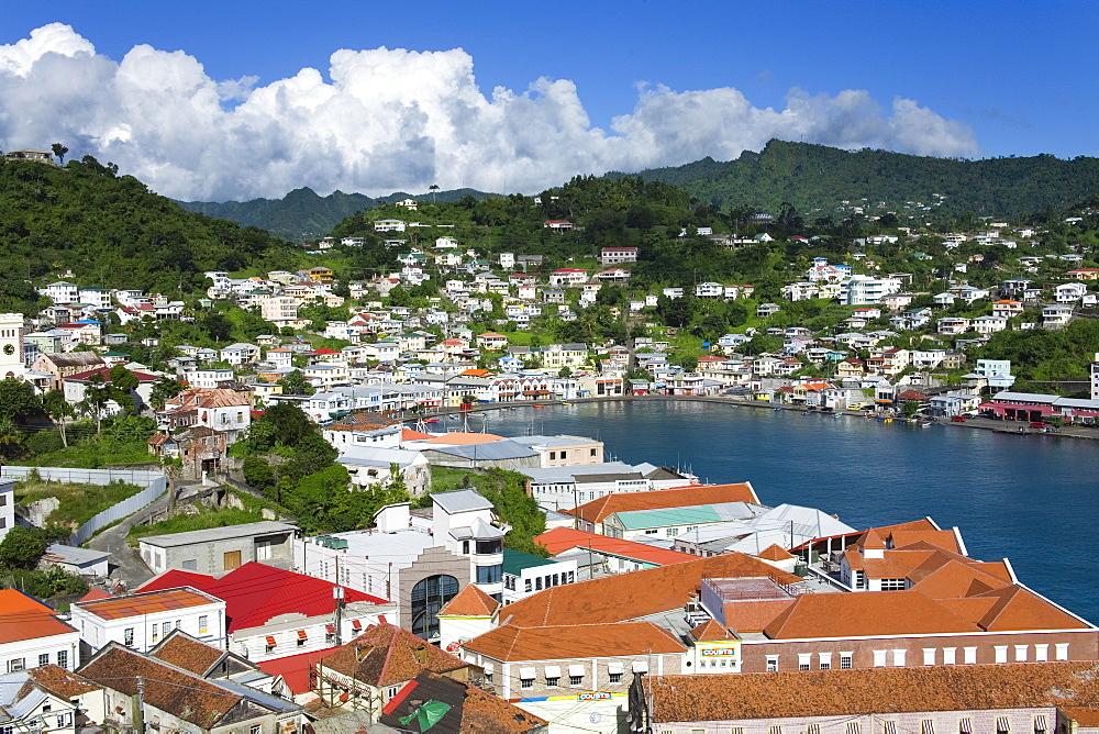 Carenage Harbour, St. George's, Grenada, Windward Islands, Lesser Antilles, West Indies, Caribbean, Central America