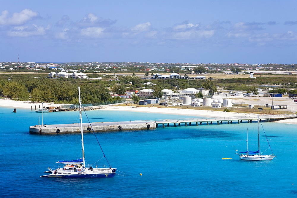 Governor's Beach on Grand Turk Island, Turks and Caicos Islands, West Indies, Caribbean, Central America