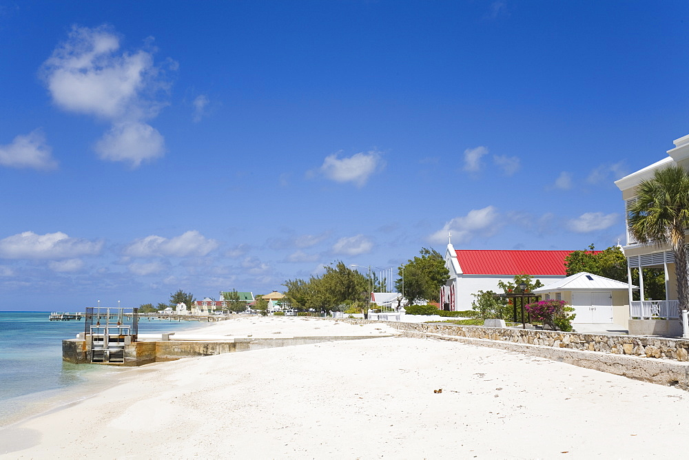 St. Mary's Anglican Church, Cockburn Town, Grand Turk Island, Turks and Caicos Islands, West Indies, Caribbean, Central America